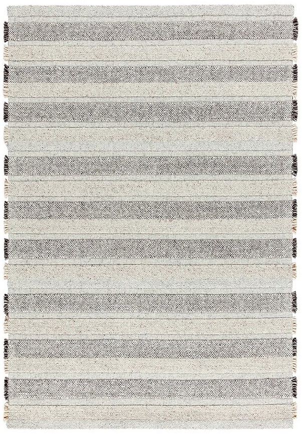 For a bit less extreme texture you can choose the    Ligne Pure - Grade    rug. Beautiful textured stripes that aren't too overwhelming