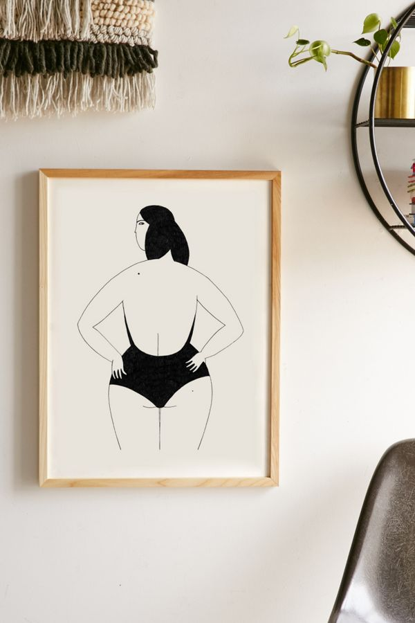 Sabrina Arnault La Nageuse Art Print