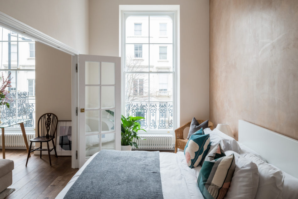 Elegant Pink Apartment in London
