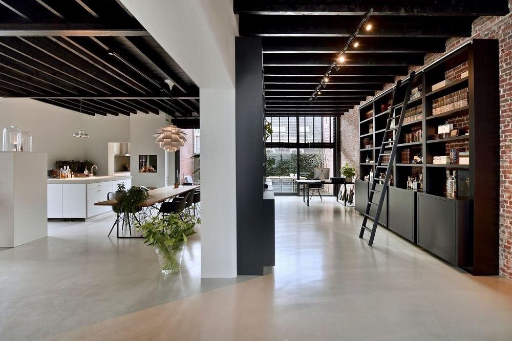 A warehouse loft in Amsterdam