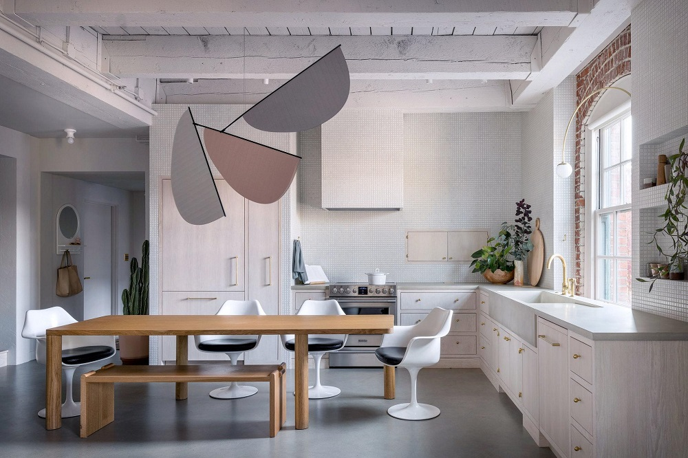 The Nordroom - A Serene and Raw Loft Apartment by Jessica Helgerson