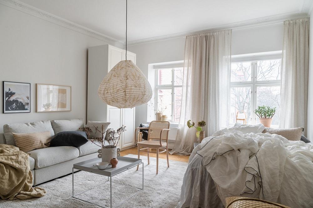 A serene Scandinavian studio   styling by Emma Fischer & photos by Annie Hyrefeldt