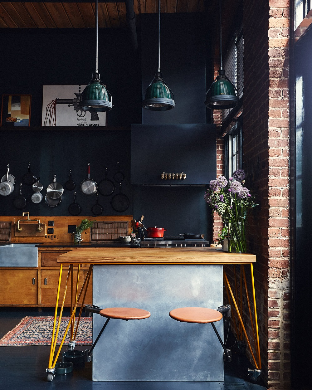 The Nordroom - Industrial Apartment of Alton Brown and Elizabeth Ingram