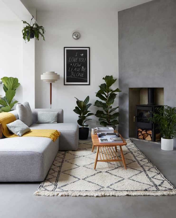 Scandinavian style in a London home | photo by Anna Stathaki