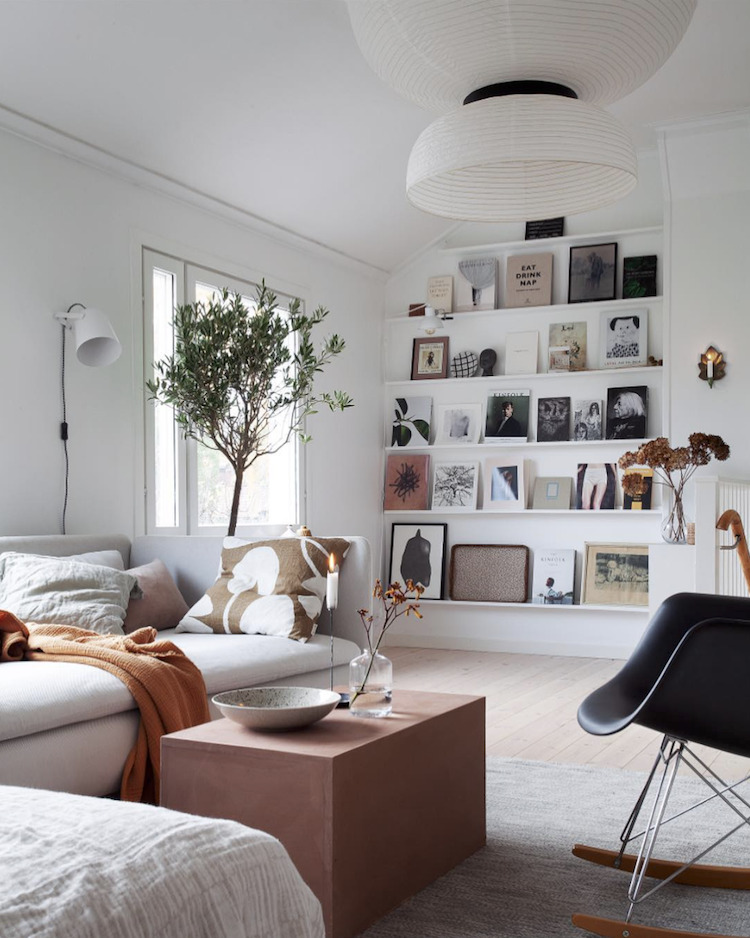 Serene Scandinavian style