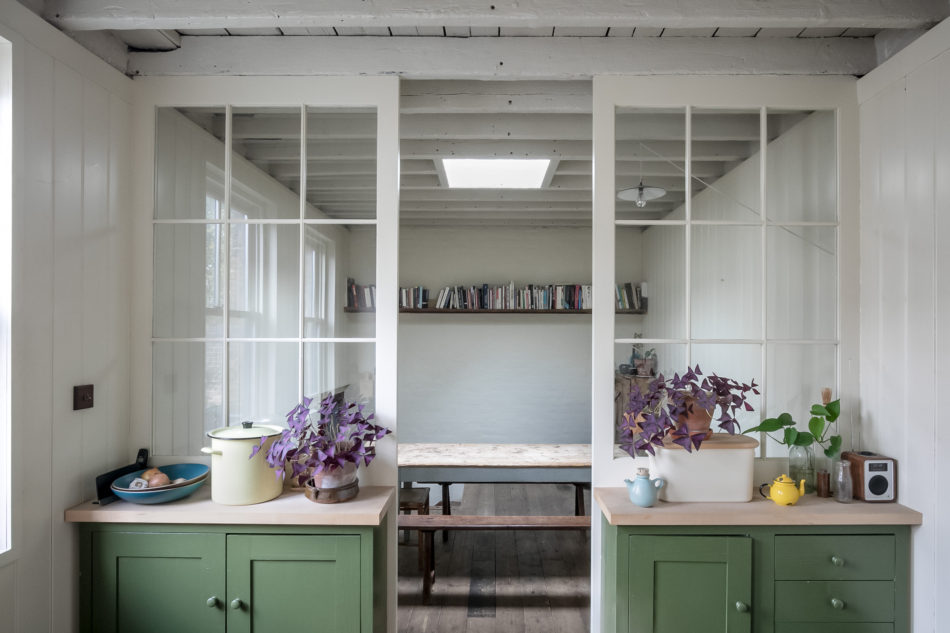 The Nordroom - Raw Materials and Chalky Colors in a London Home