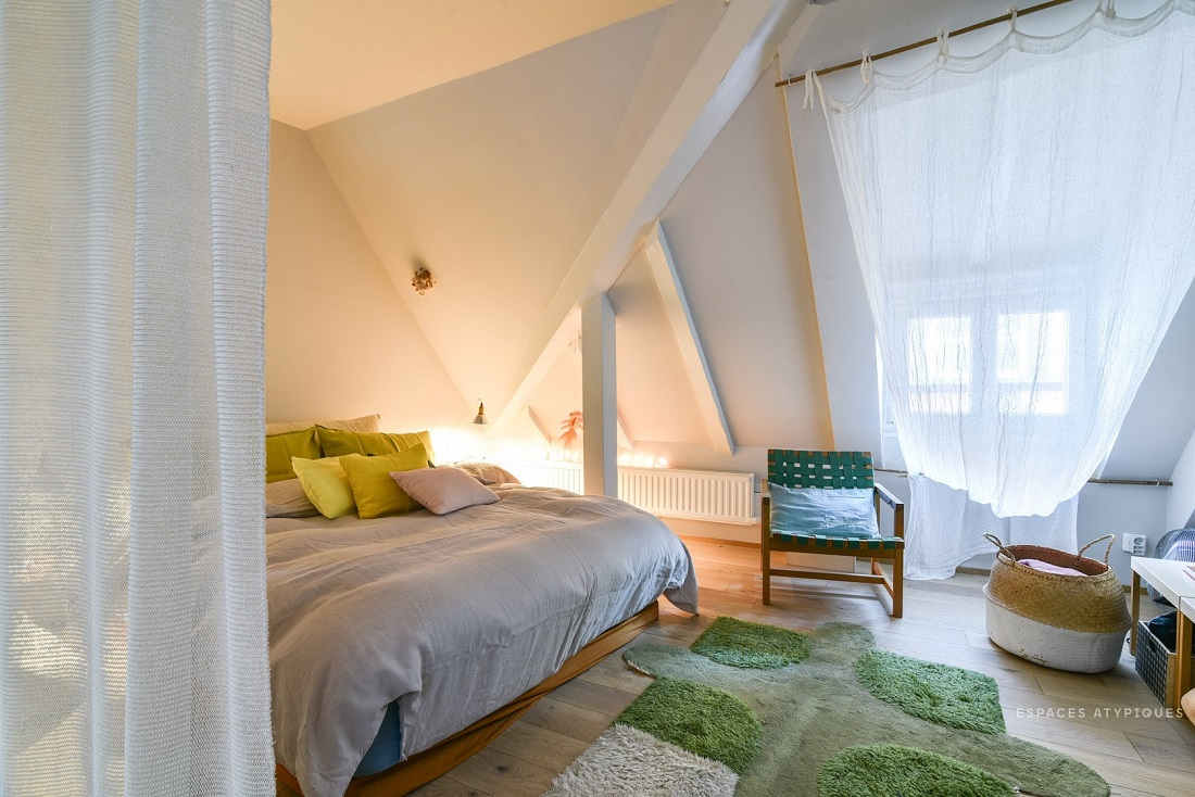 The Nordroom - A Cozy Plant-Filled Attic Apartment in Strasbourg