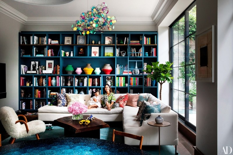 The Nordroom -  A Layered And Colorful Home in Notting Hill