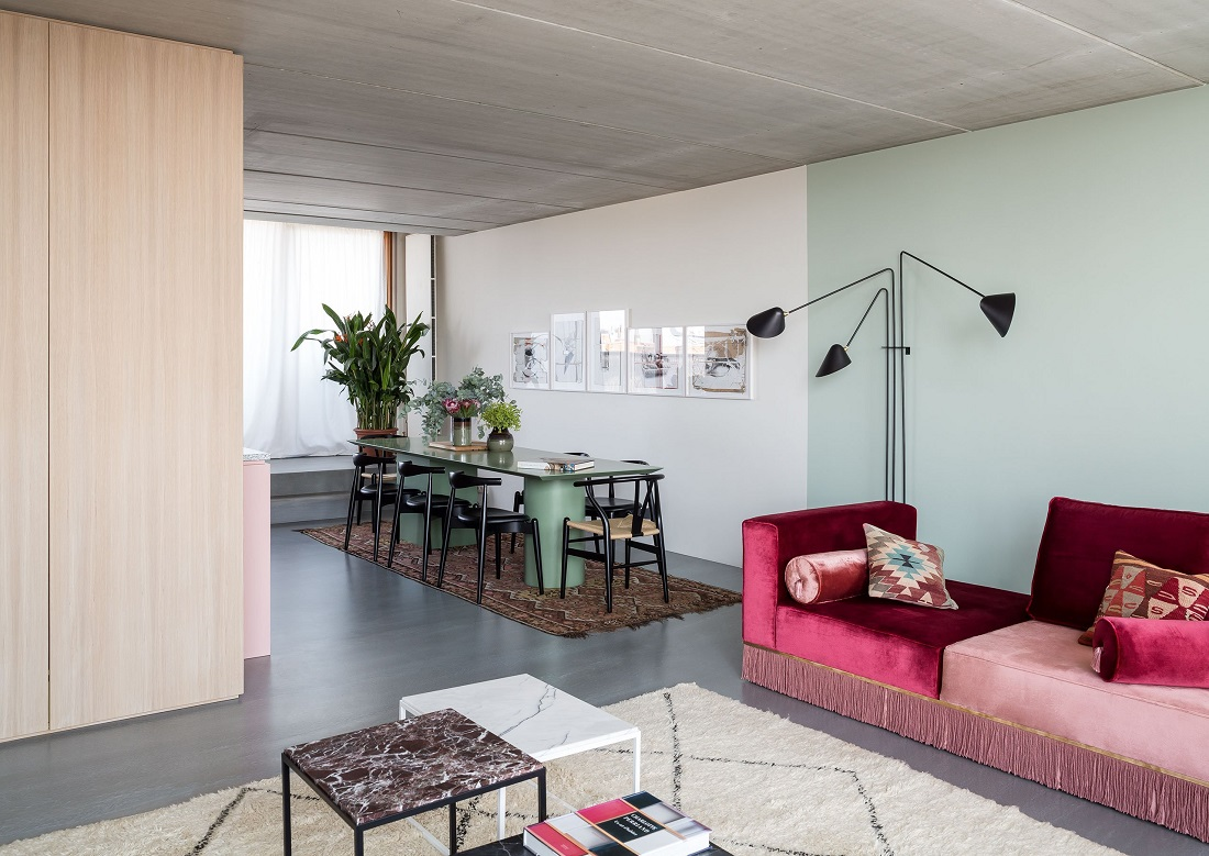 The Nordroom - An Architect's Colorful Berlin Apartment