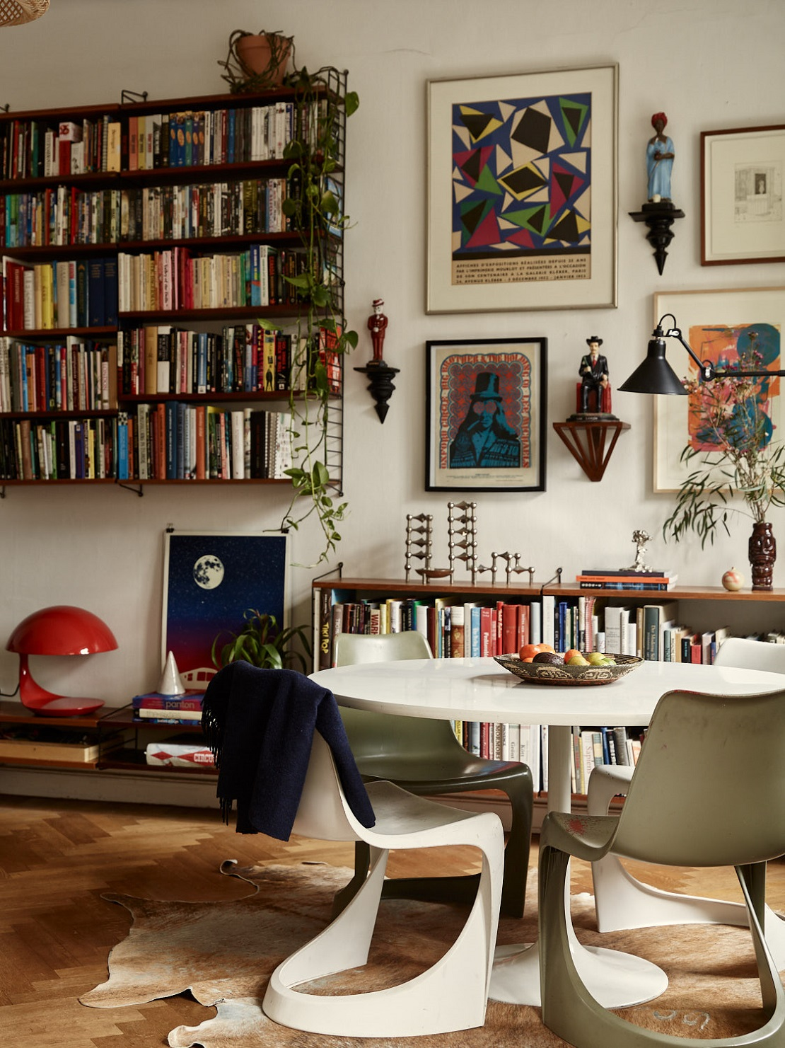 A Small Vintage Bohemian Apartment In Stockholm The Nordroom