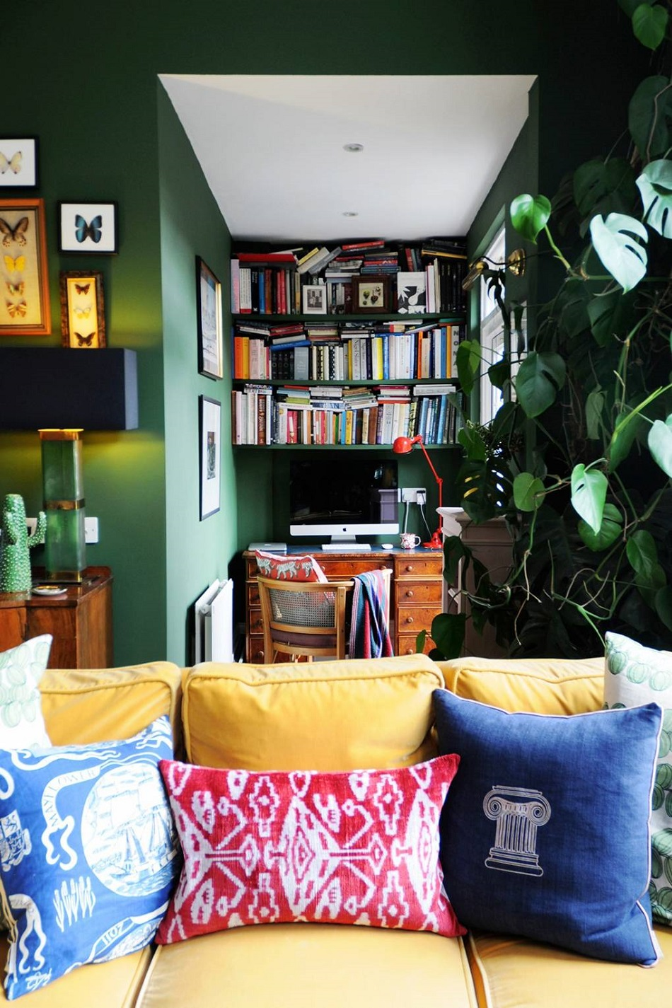 The Nordroom - The Colorful Eclectic Home of Designer Luke Edward Hall & Duncan Campbell