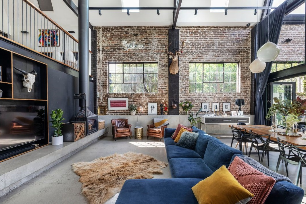 A Spectacular Warehouse Conversion In Sydney The Nordroom