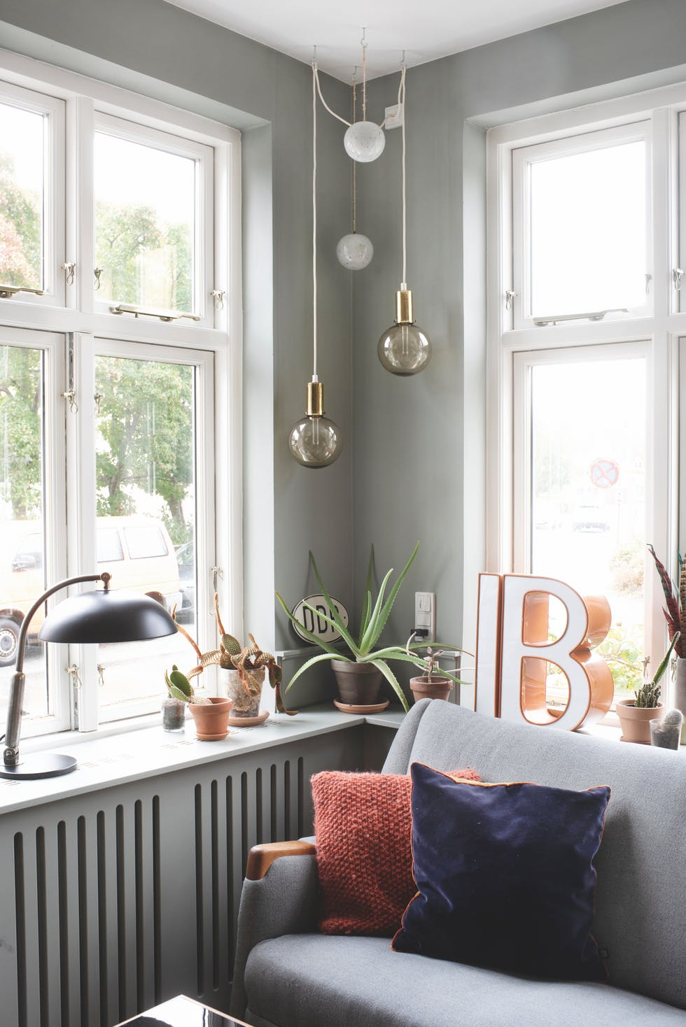The Nordroom - A Colorful Vintage Home in Denmark