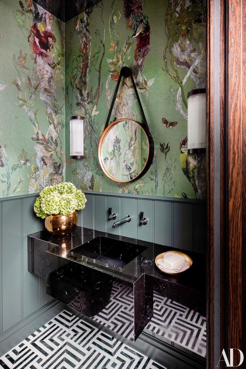 The Nordroom - 25 Inspiring Bathrooms With Geometric Tiles  image: Paul Raeside