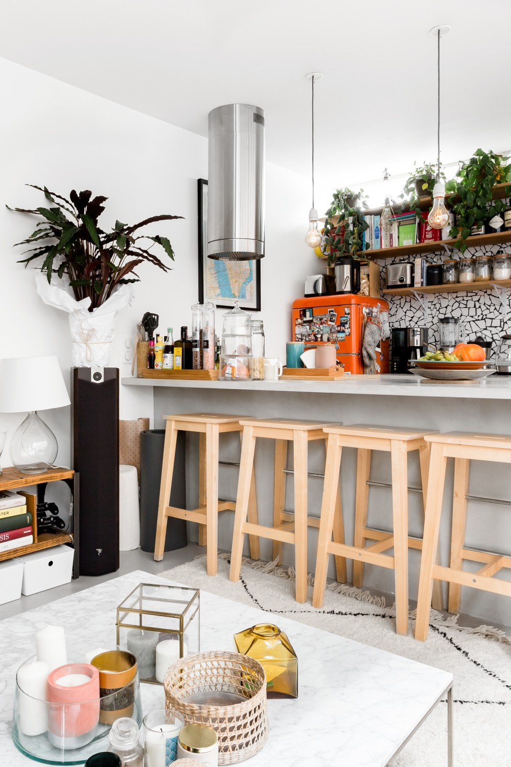 A Bright Attic Apartment in Paris That's For Rent on Airbnb
