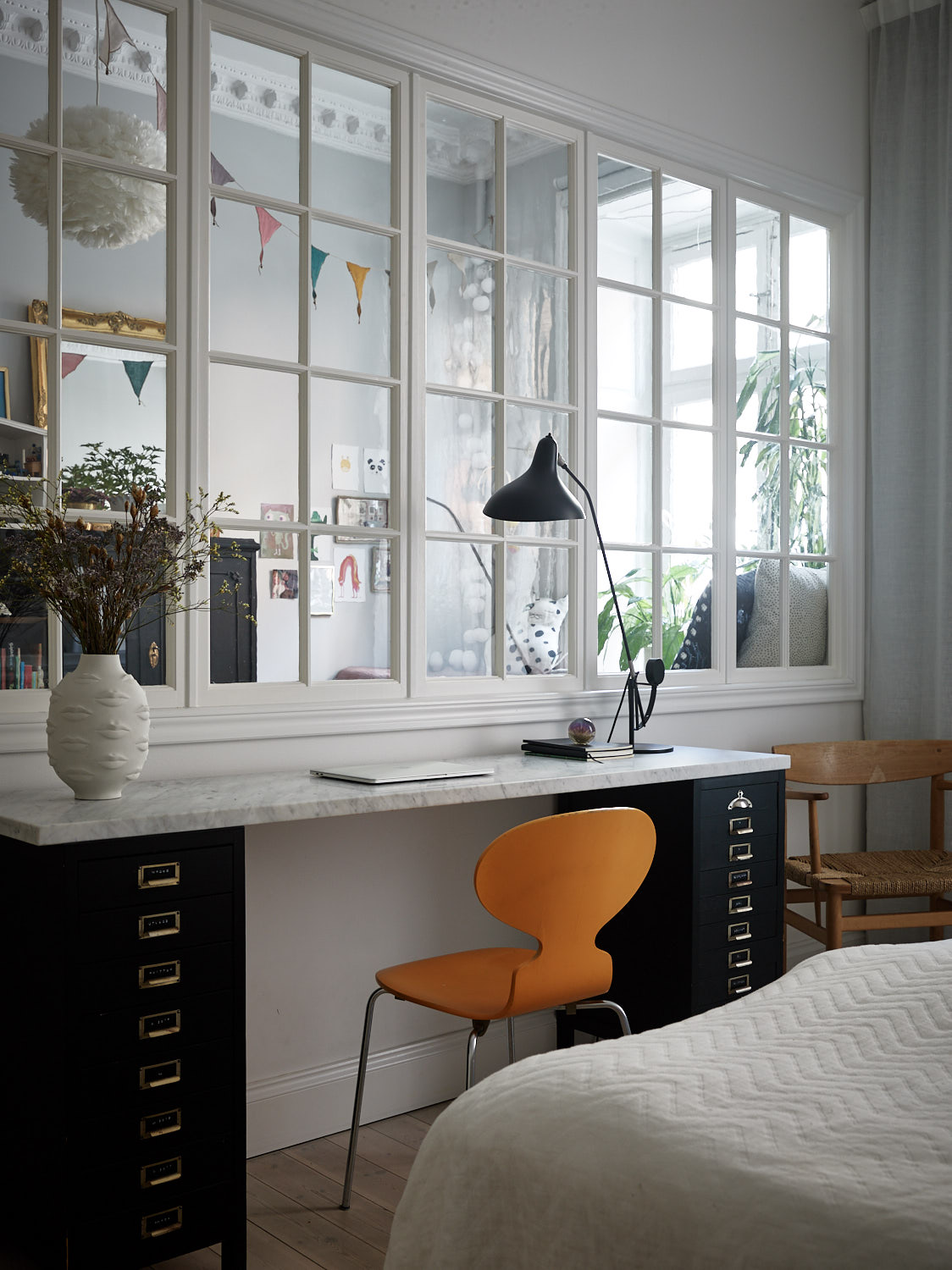 The Nordroom - A Stockholm Family Apartment with Charming Kids Bedrooms