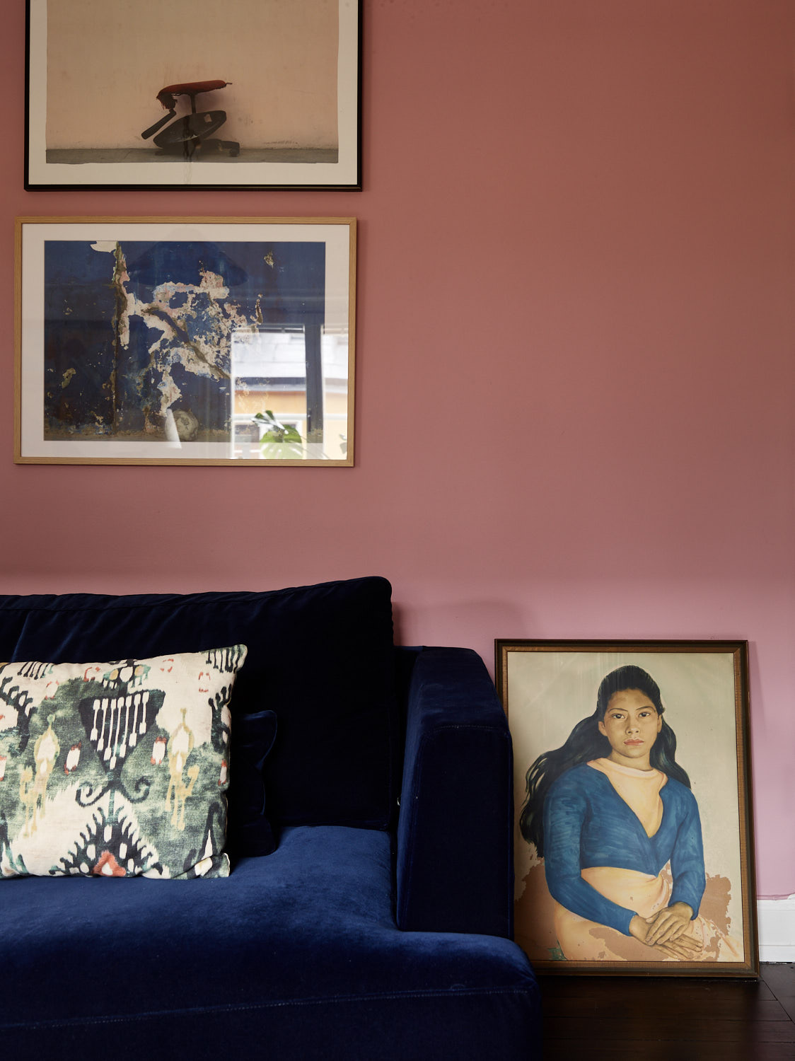 The Nordroom - A Vibrant Pink and Blue Apartment
