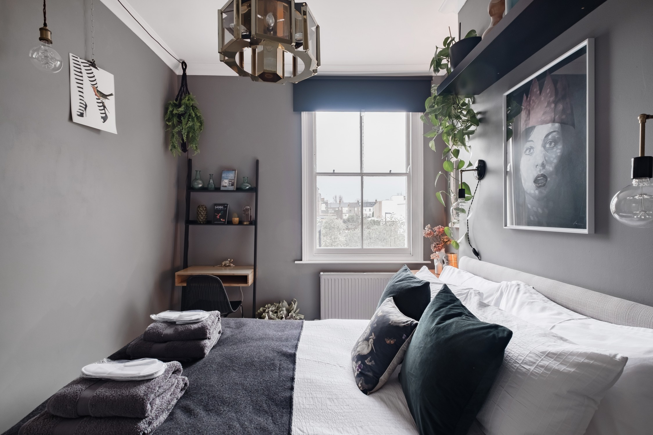 The Nordroom - Grey Tones in A Cozy London Home