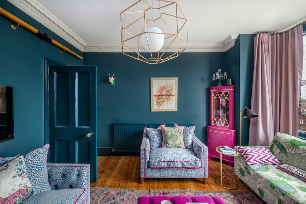 The Nordroom - A Color Explosion in A South London Home