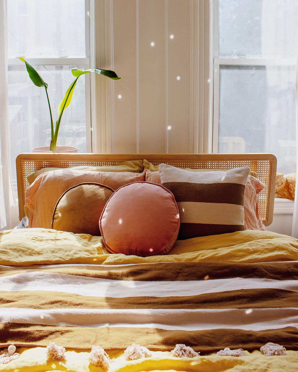 波西米亚风格的卧室