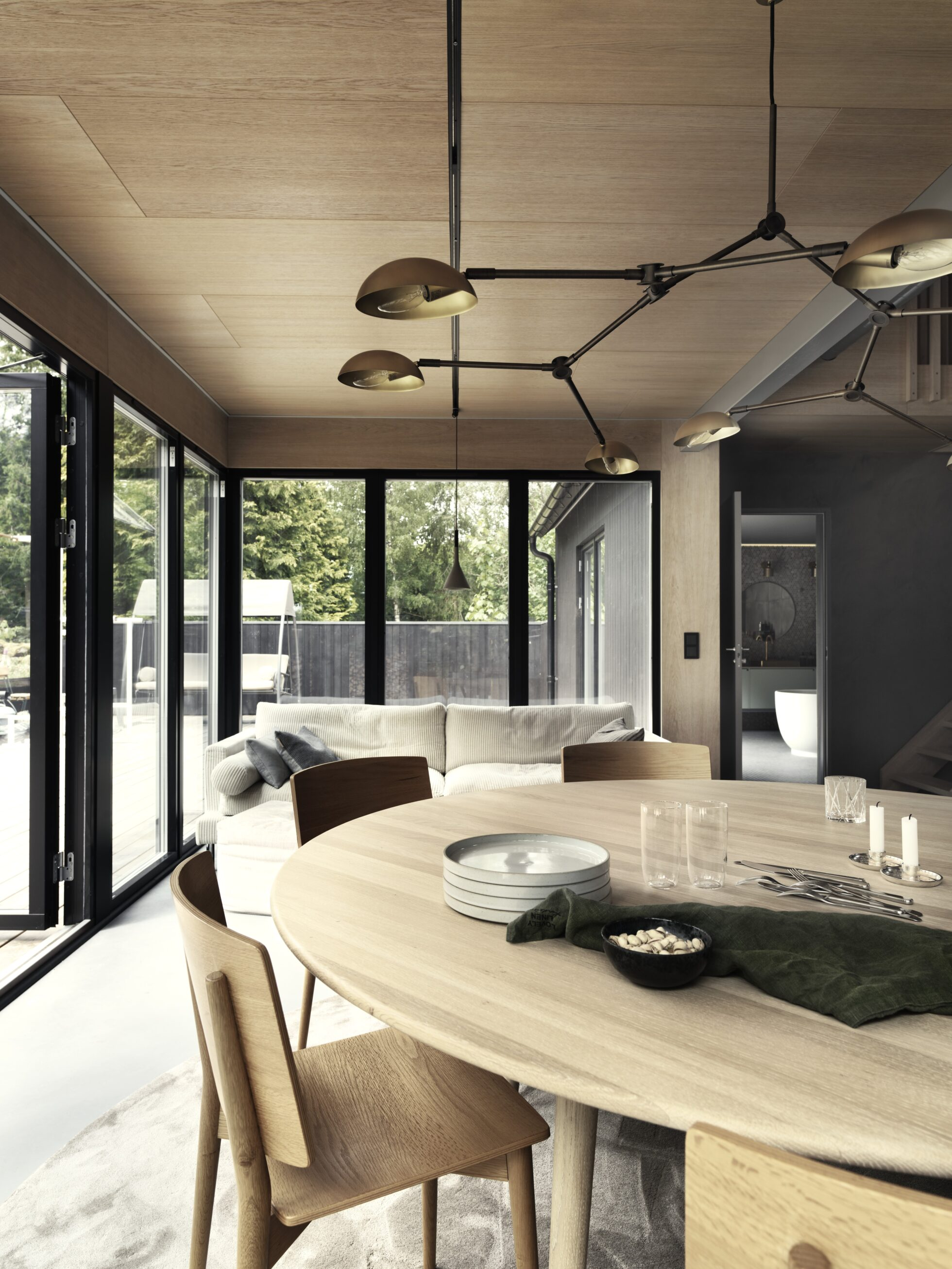The Nordroom - A Sustainable Open-Plan Home In The Swedish Countryside
