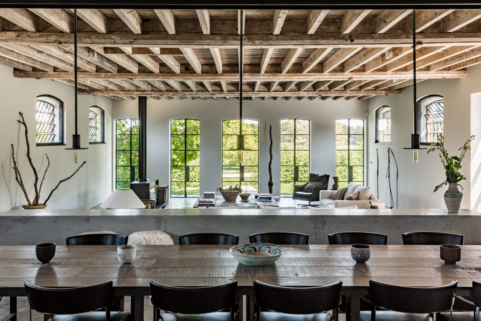 The Nordroom - A Barn Conversion In The English Countryside
