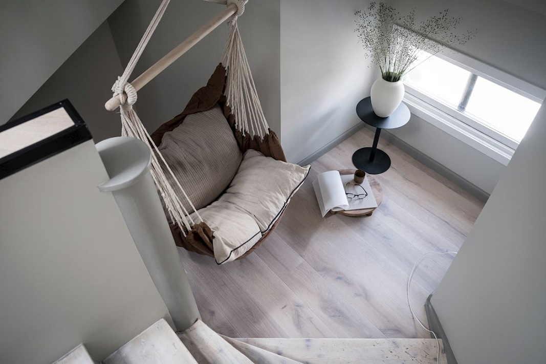 The Nordroom - A Bright And Stylish Scandinavian Attic Apartment