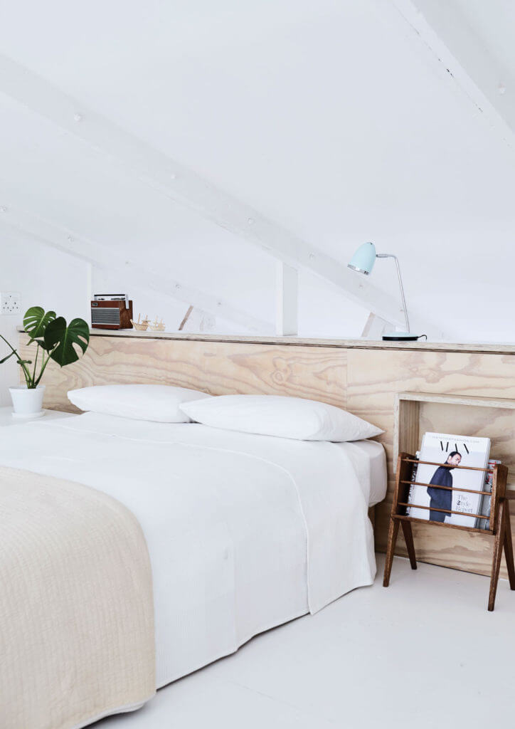 The Nordroom - Creative Headboard and Bedroom Styling Ideas (photography by  Warren Heath )