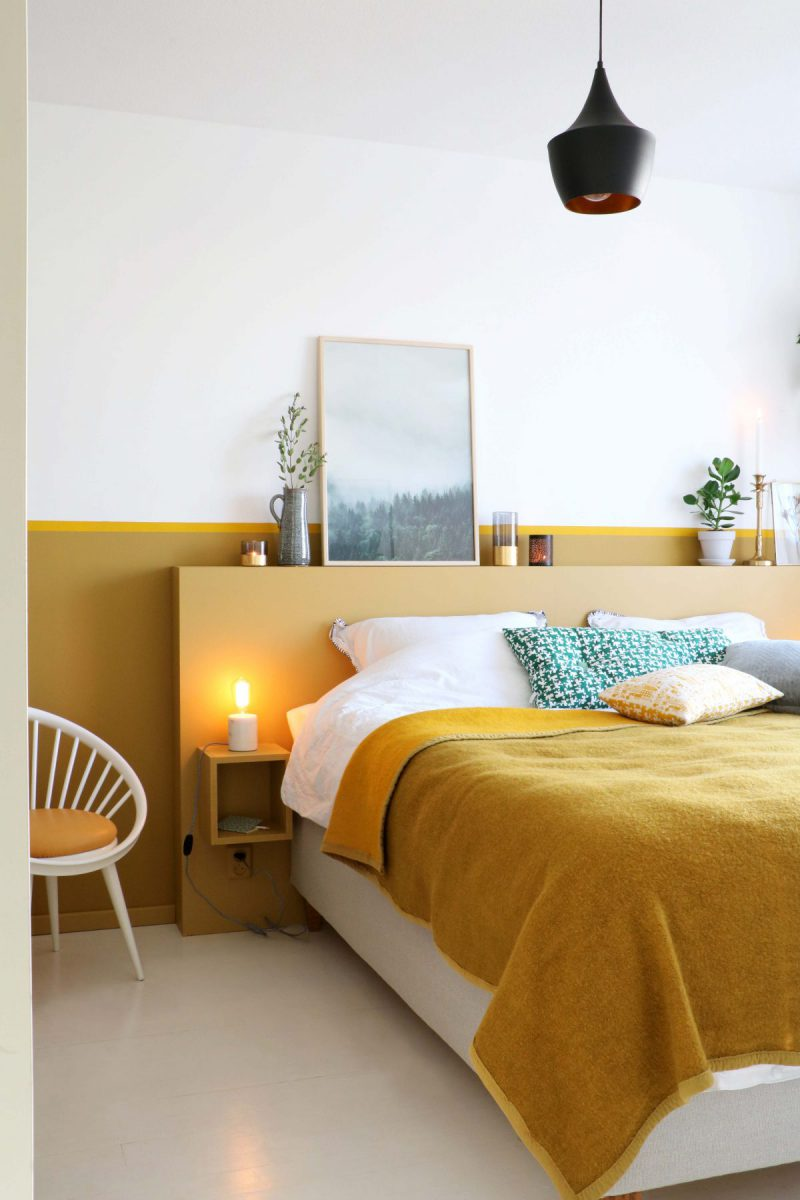 The Nordroom - Creative Headboard and Bedroom Styling Ideas (source:  Karwei )