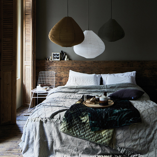 The Nordroom - Creative Headboard and Bedroom Styling Ideas (photo by HK Living)