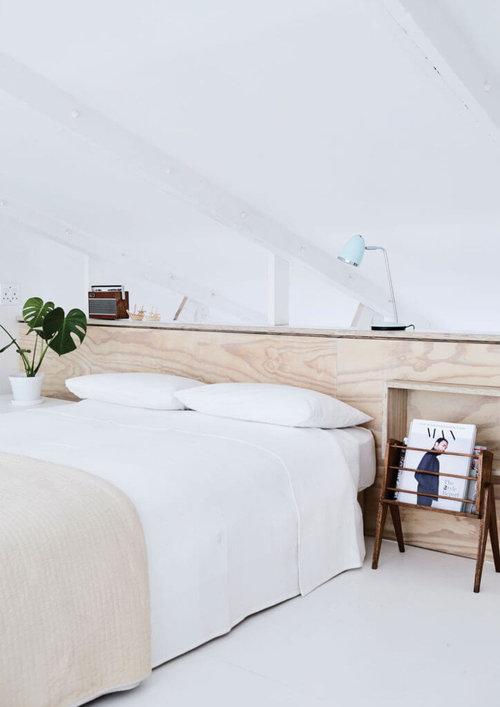 Nordroom - Креативные идеи укладки изголовья и спальни (фото Уоррена Хита)