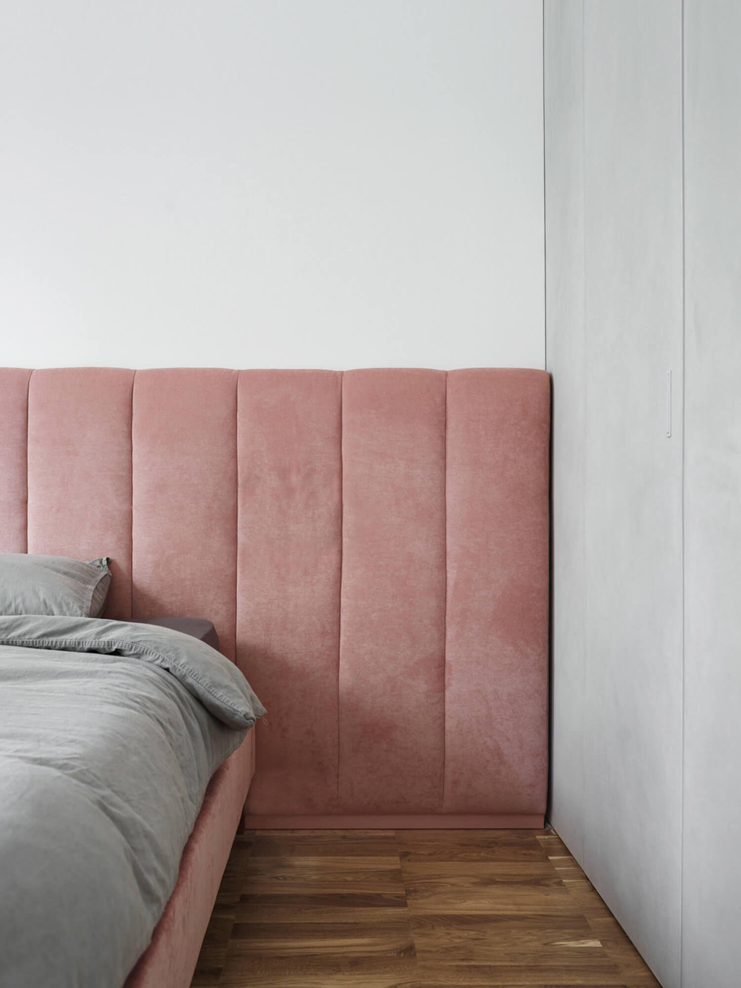 The Nordroom - Creative Headboard and Bedroom Styling Ideas (design by Crosby Studios)