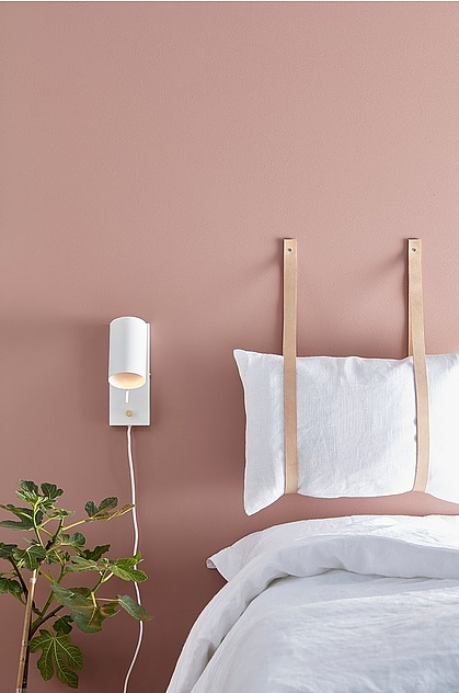 The Nordroom - Creative Headboard and Bedroom Styling Ideas (source: Ellos)
