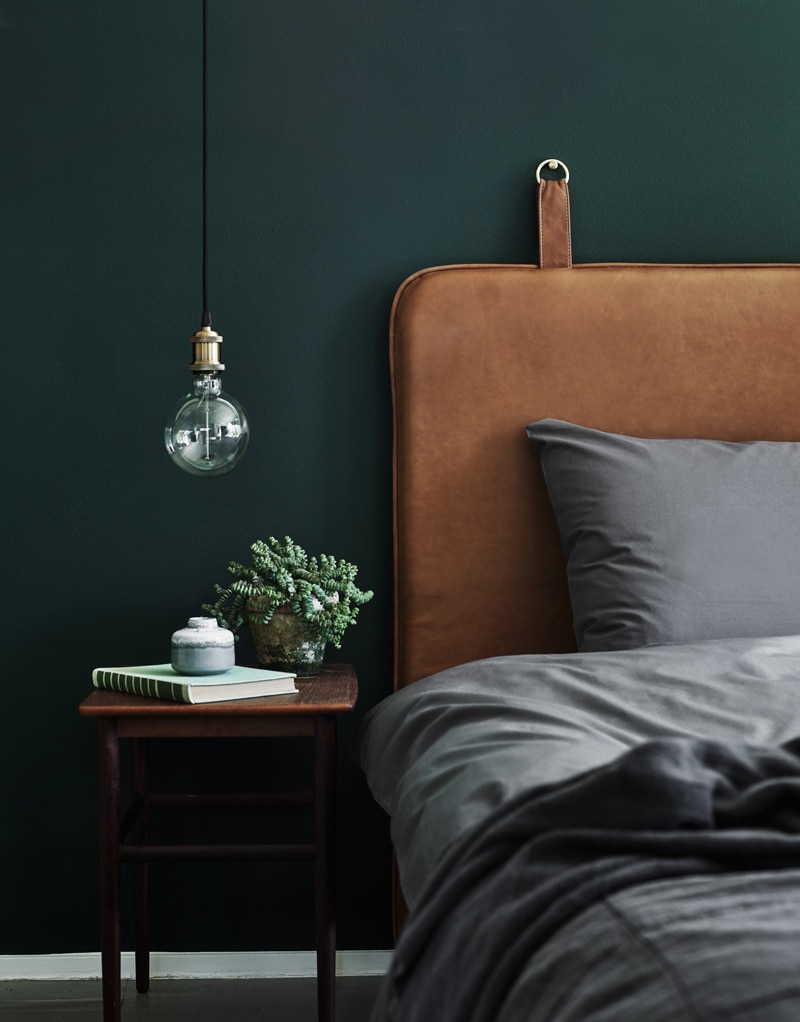 The Nordroom - Creative Headboard and Bedroom Styling Ideas (The M Headboard by  By Thornam )