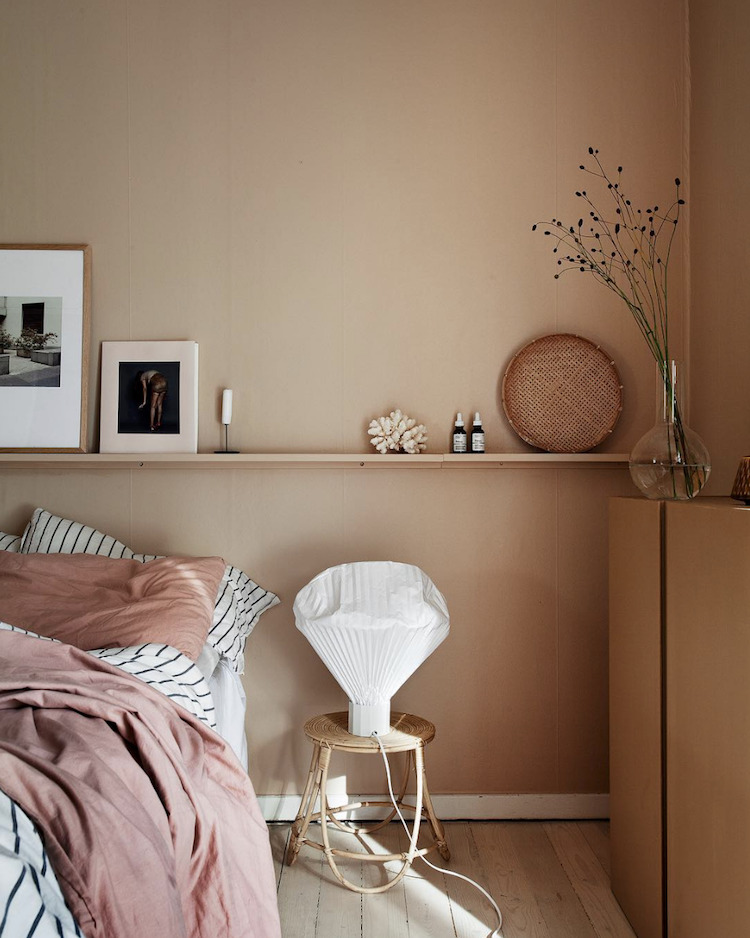The Nordroom - Creative Headboard and Bedroom Styling Ideas (photography by Janniche Kristoffersen)