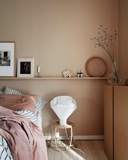 Nordroom - Креативные идеи оформления изголовья и спальни (фотография Янниха Кристофферсена)