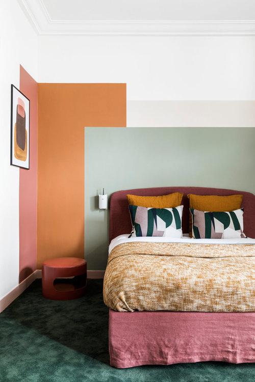 Nordroom - Креативные идеи оформления изголовья и спальни (фотография Ромена Рикара)