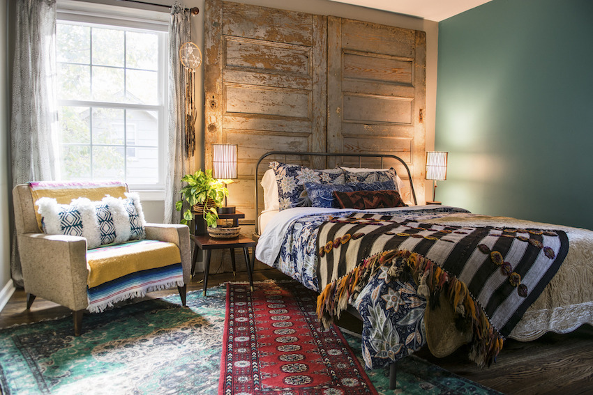 The Nordroom - Creative Headboard and Bedroom Styling Ideas (photography by Torri Marsh)