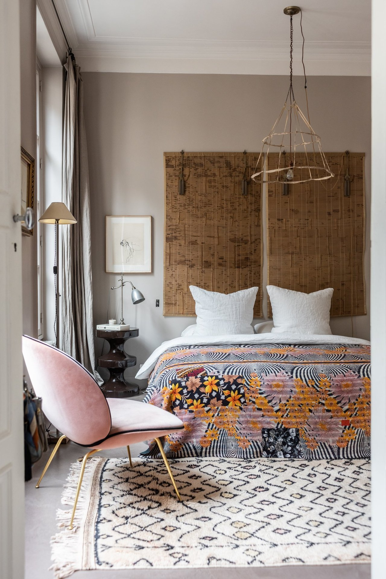 The Nordroom - Creative Headboard and Bedroom Styling Ideas (photography by Valerio Geraci)