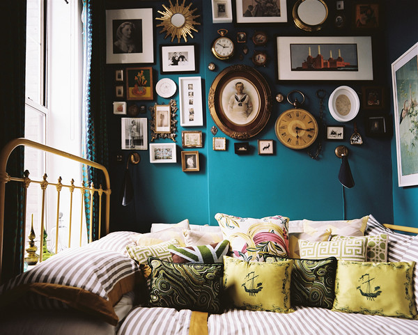 The Nordroom - Creative Headboard and Bedroom Styling Ideas (photography by Patrick Cline)