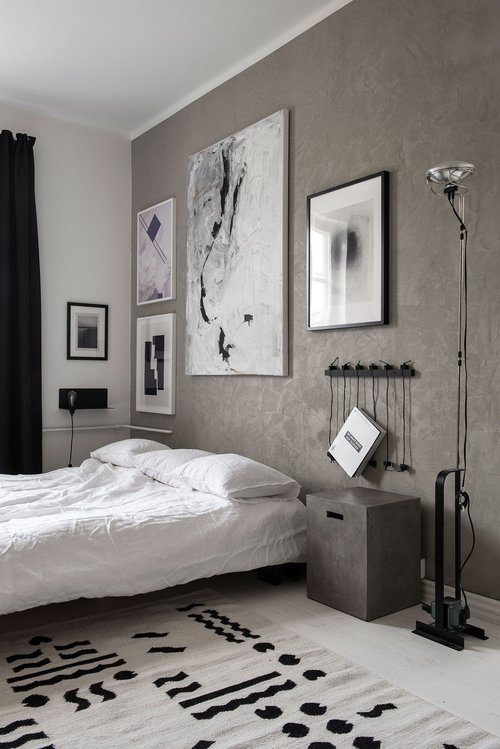 The Nordroom - Креативные идеи оформления изголовья и спальни (фотография Лауры Сеппанен)