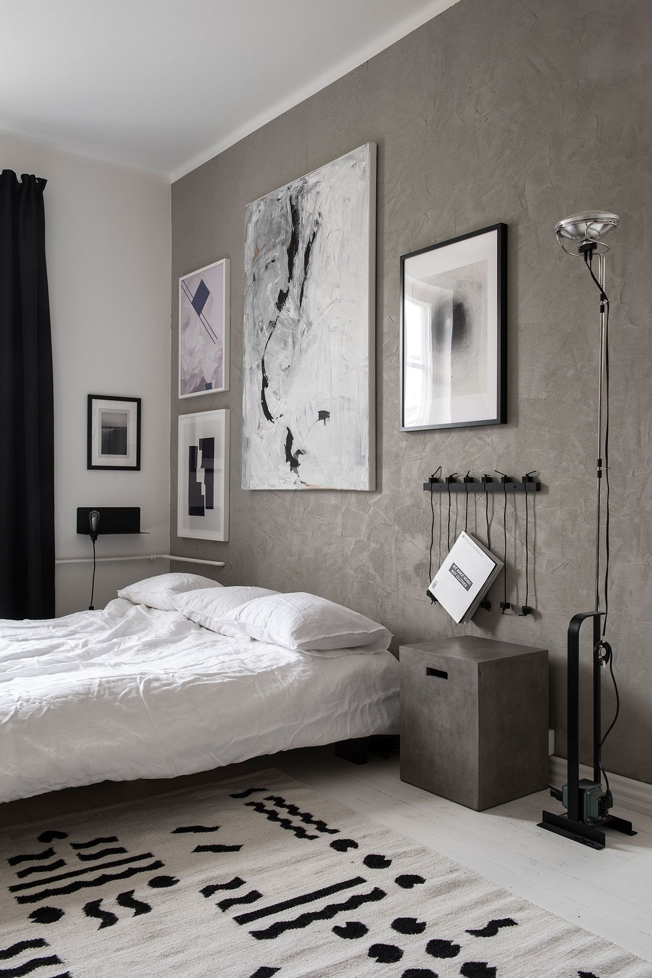 The Nordroom - Creative Headboard and Bedroom Styling Ideas (photography by Laura Seppanen)