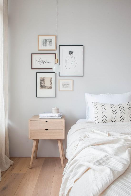 The Nordroom - Creative Headboard and Bedroom Styling Ideas (photography by Holly Marder)