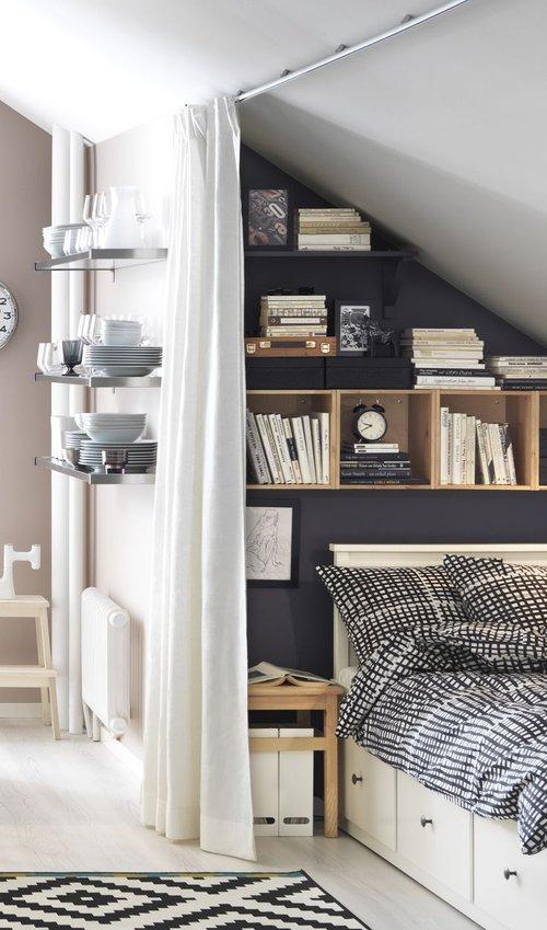 The Nordroom - Креативные идеи оформления изголовья и спальни (источник: IKEA)
