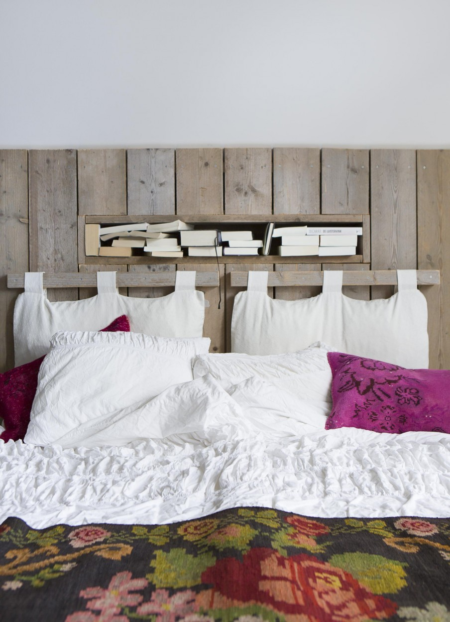 The Nordroom - Creative Headboard and Bedroom Styling Ideas (photography by Anouk de Kleermaeker & styling by Yvonne Bakker)