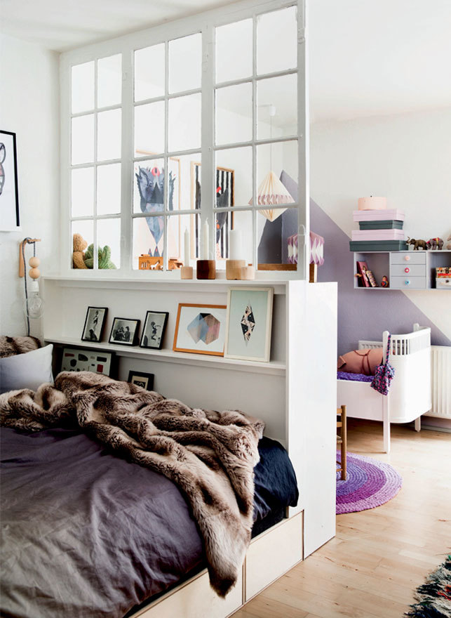 The Nordroom - Creative Headboard and Bedroom Styling Ideas (photography by Mette Helena Rasmussen)
