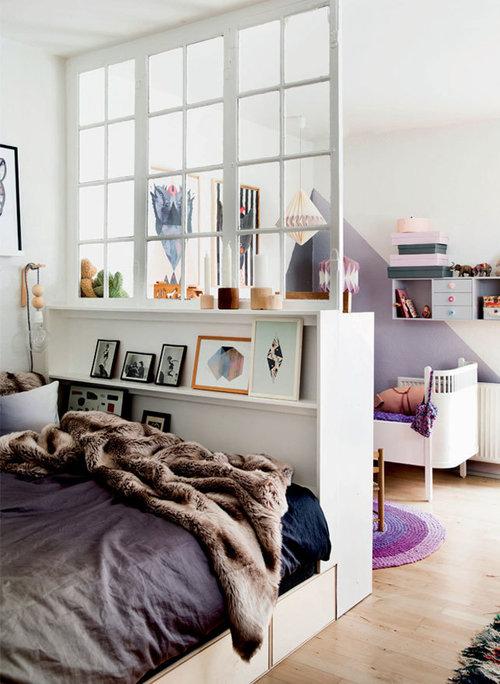 Nordroom - Креативные идеи оформления изголовья и спальни (фотография Метте Хелены Расмуссен)
