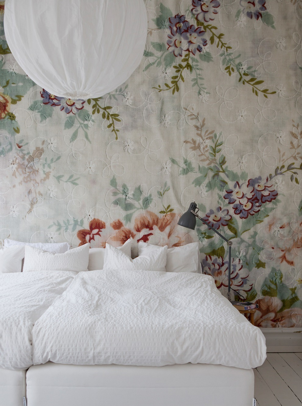 The Nordroom - Creative Headboard and Bedroom Styling Ideas (Source: Bolaget)