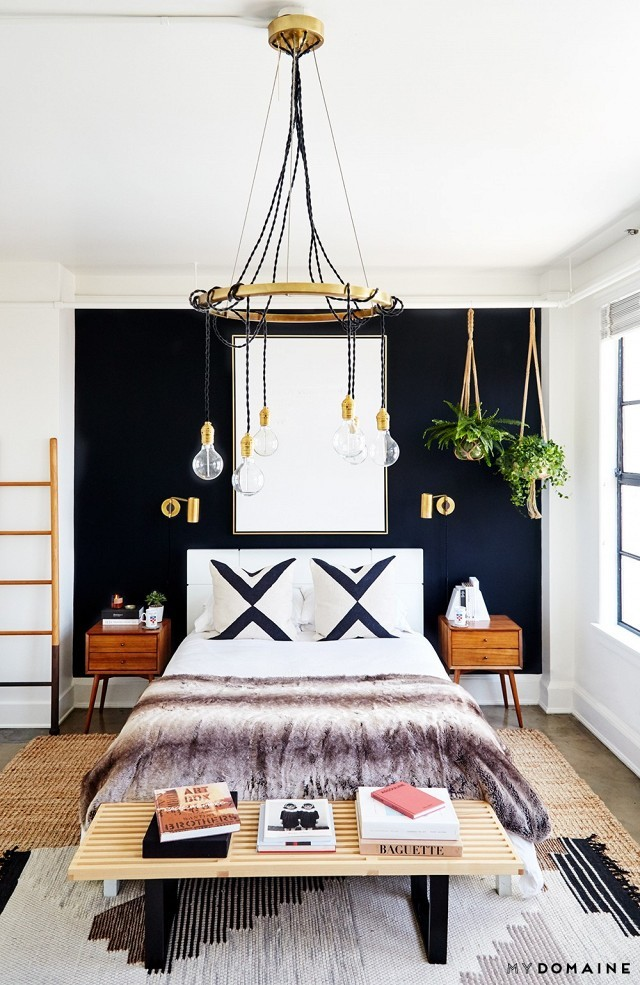 The Nordroom - Creative Headboard and Bedroom Styling Ideas (photography by Jenna Peffley)