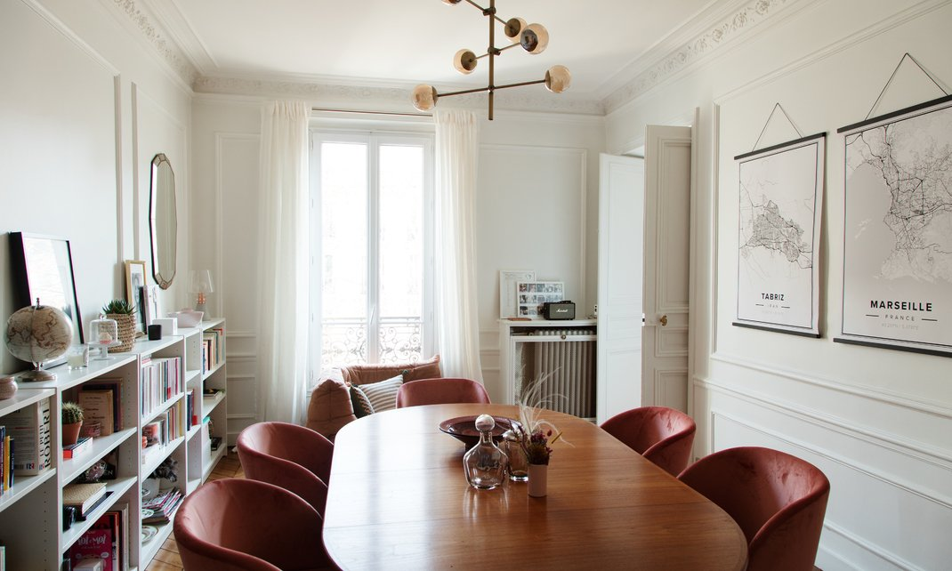 THe Nordroom - A Stylish Haussmannian Apartment in Paris